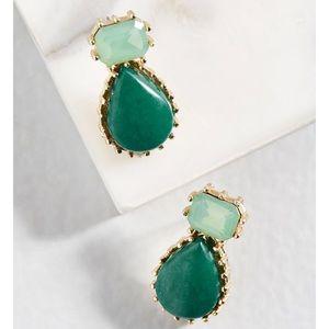 Gemstone earrings from Modcloth!